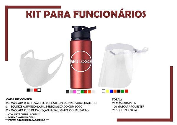 Kit de Prevenção e Squeeze 600ml