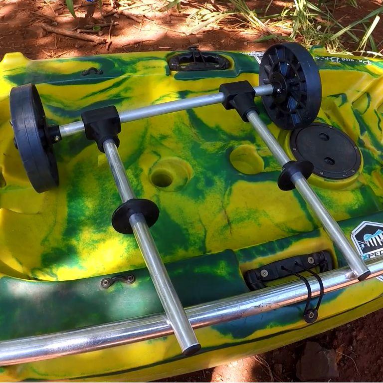 Carrinho Universal Para Transporte de Caiaques em Alumínio Kalamos