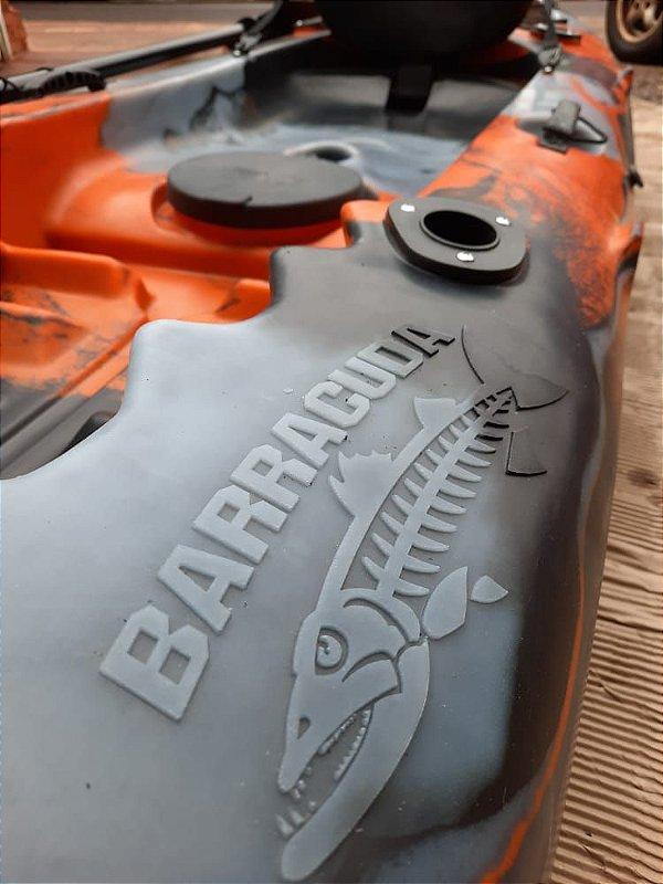 Caiaque Lontras Barracuda cor Especial (Jornada na Pesca) com Assento