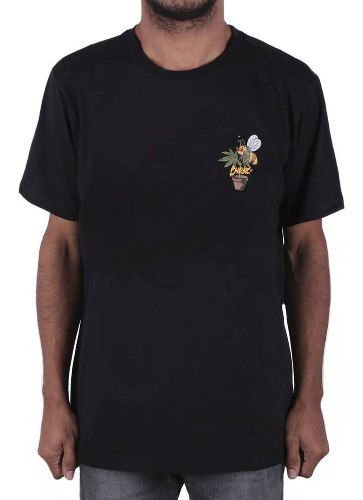 Camiseta Chronic Weed Bee Preta