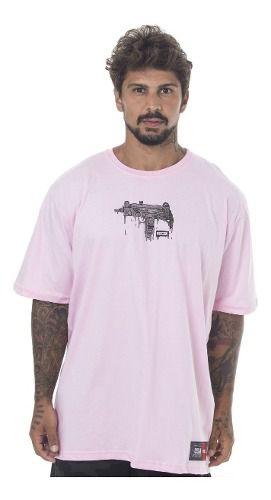 Camiseta Prison Uzi Melted Rosa