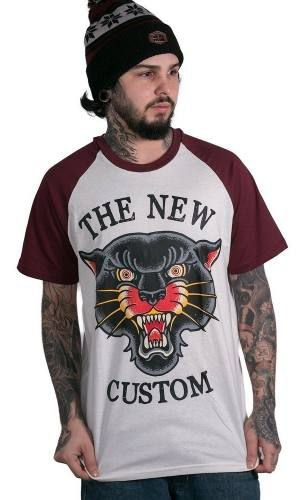 Camiseta Raglan The New Custom Old Panther