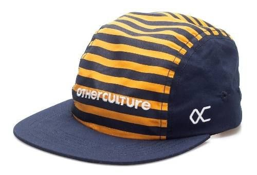 Bone Five Panel Other Culture Striped Navy