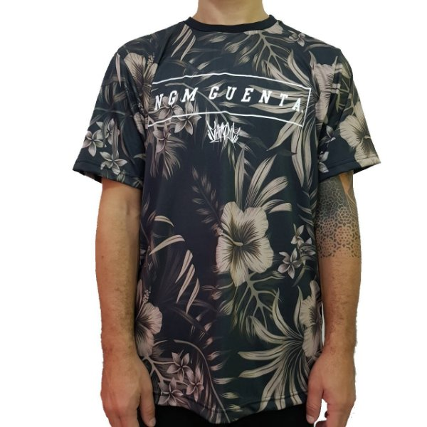Camiseta Floral Chronic Ngm Guenta