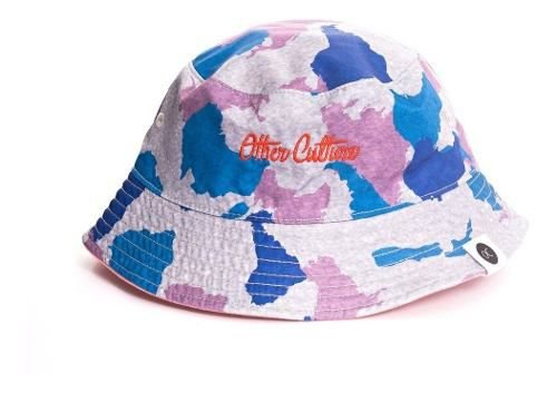 Chapeu Bucket Hat Other Culture Dupla Face Camuflado