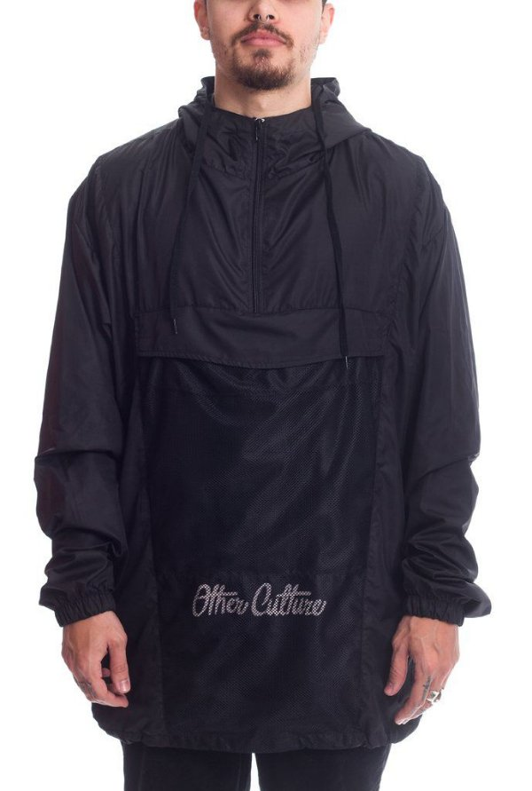 Corta Vento Other Culture Anorak Black