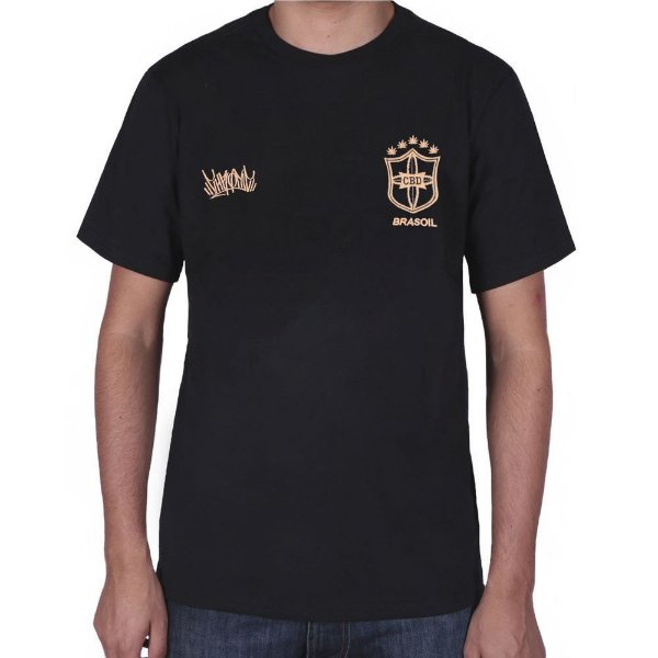 Camiseta Chronic CBD Brasoil