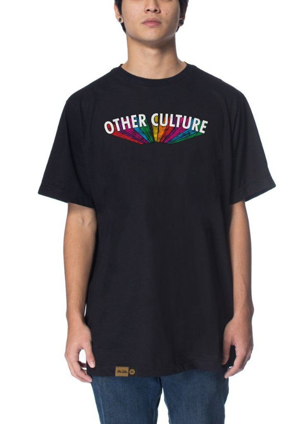 Camiseta Other Culture Rainbow