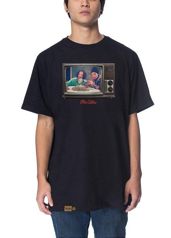 Camiseta Other Culture Larica Black