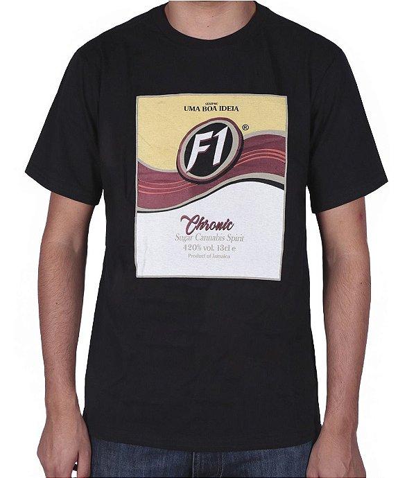 Camiseta Chronic F1 Preta