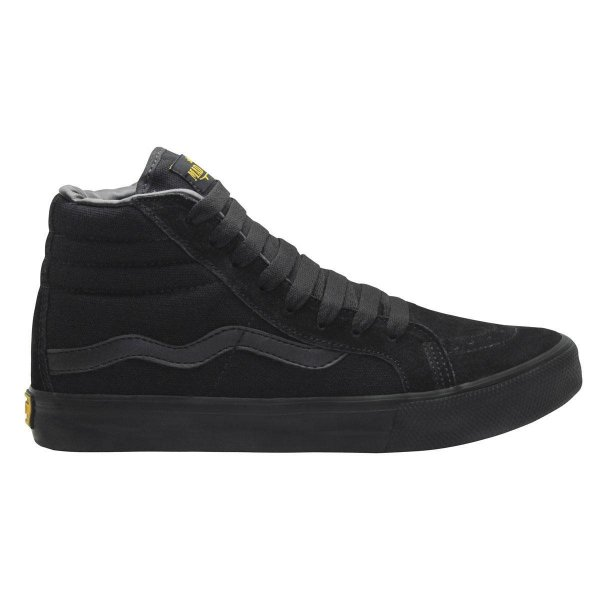Tênis Mad Rats Hi Top Cano Alto Todo Black