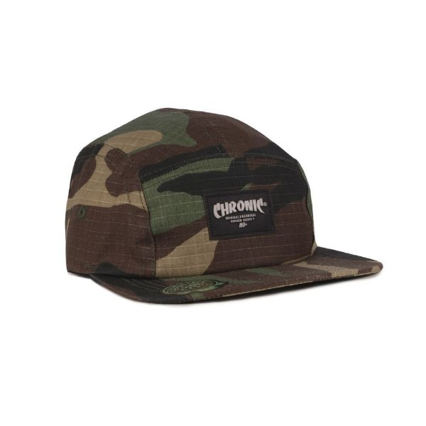 Boné Five Panel Chronic Camuflado Rip Stop