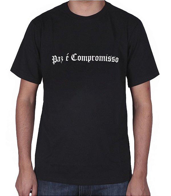 Camiseta Chronic Paz é Compromisso
