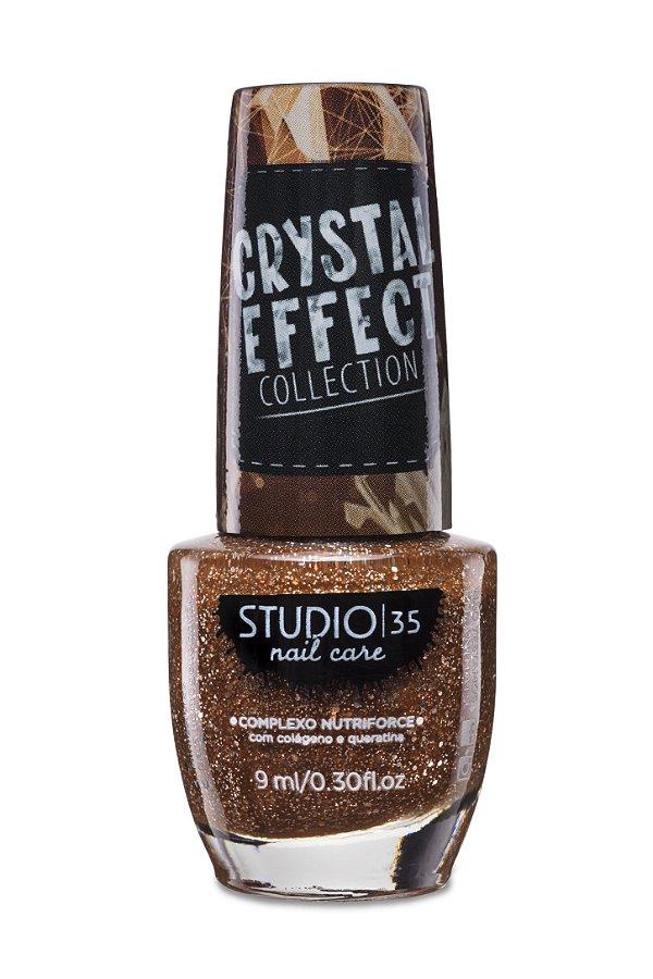 LANÇAMENTO - Esmalte Fortalecedor Studio 35 Cristal Effect 9 ml #SQN