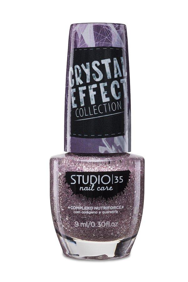 LANÇAMENTO - Esmalte Fortalecedor Studio 35 Cristal Effect 9 ml #LACREI