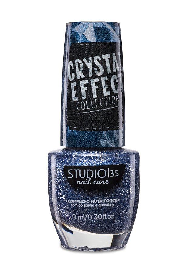 LANÇAMENTO - Esmalte Fortalecedor Studio 35 Cristal Effect 9 ml #ESTRELASDOCEU