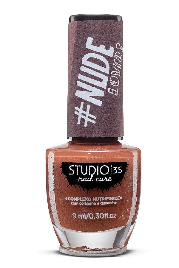 Esmalte Fortalecedor Studio 35 - 9 ml - Nude #santadopauoco