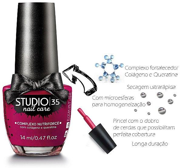 Esmalte Fortalecedor Studio 35 14 ml Professional Care #mordidinha - 07 (Cremoso)