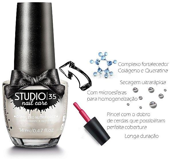 Esmalte Fortalecedor Studio 35 14 ml Professional Care #noivinha - 11 (Cintilante Perolado)