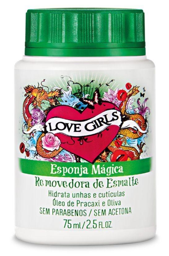 Removedor de Esmaltes Love Girls 75 ml Oliva e Pracaxi - Sexy Cosmetics