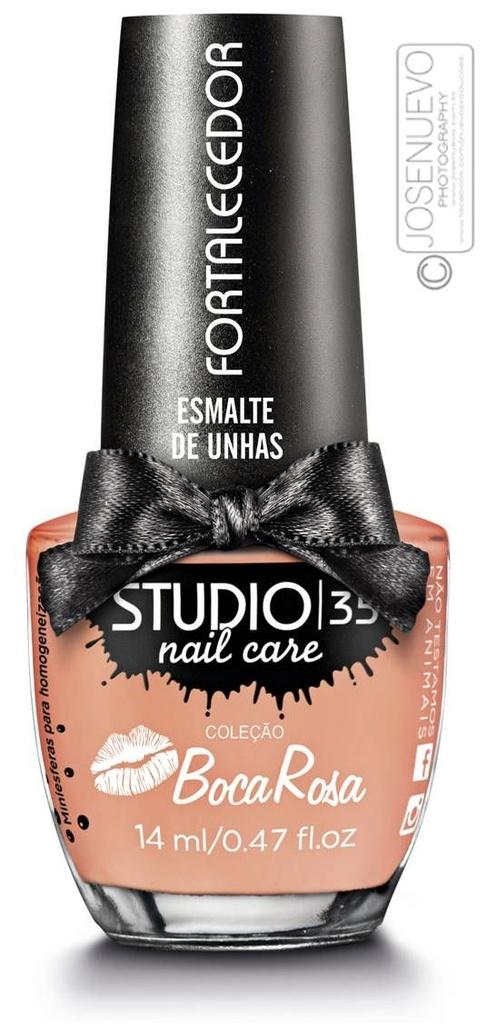 Esmalte Fortalecedor Studio 35 by Boca Rosa 14 ml #cupcakedatiamonica - 09 (Cremoso)