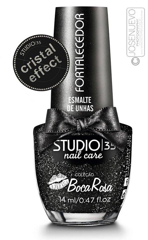 Esmalte Fortalecedor Studio 35 by Boca Rosa 14 ml #bruxinhachic - 11 (Cristal Effect)