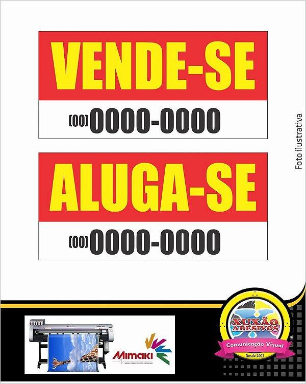 FAIXA 200x70 CM Em Lona Editável VENDE-SE - ALUGA-SE.