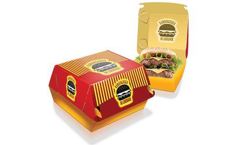 Embalagem de Hambúrguer