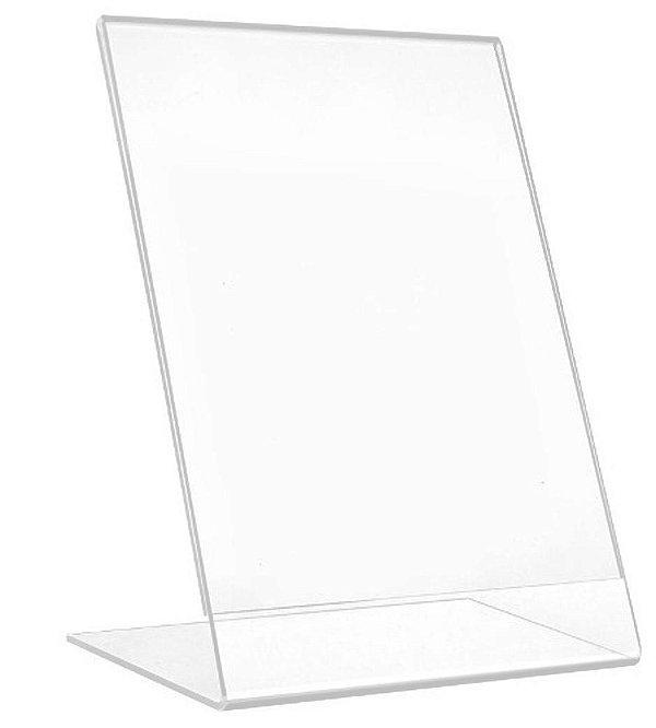 Display ou Porta Folha L em Acrílico A6 (10x15cm)