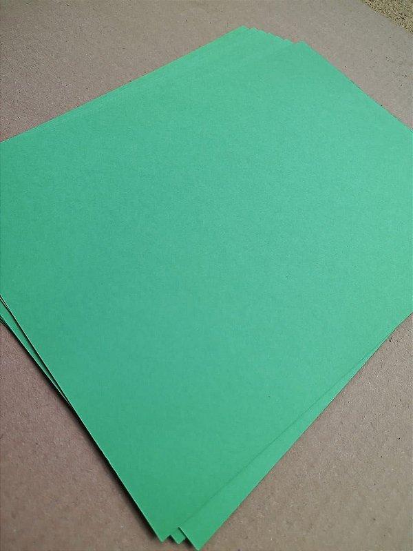 Papel Color Plus - Verde Vivo - valor por unidade