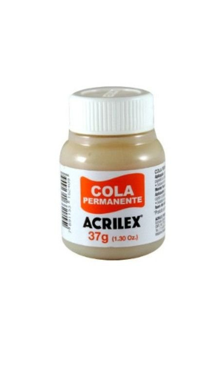 Cola Acrilex de contato permanente 37g