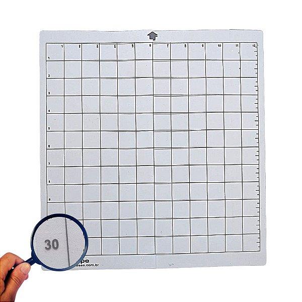 Base Silhouette Cameo 30x30 Transparente 0.30MM