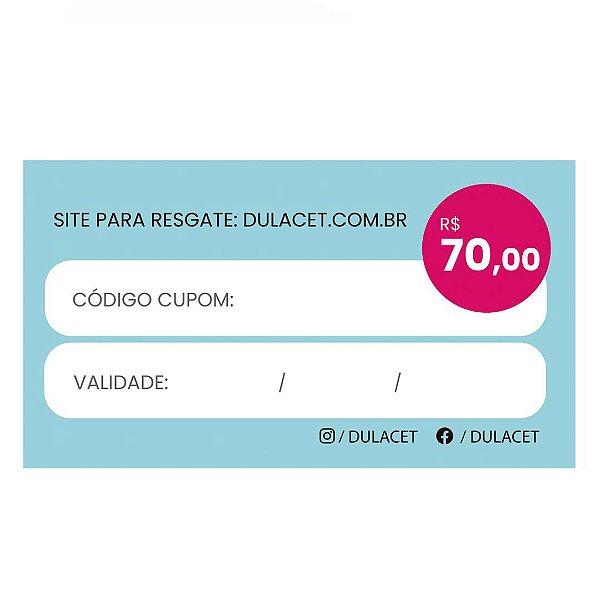 CARTÃO PRESENTE 70