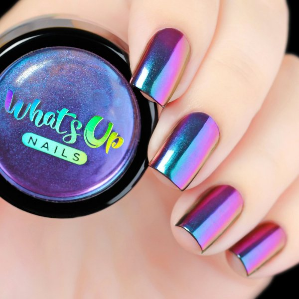 Pó Para Unhas Efeito Multi Cromado Whats Up Nails - Dream