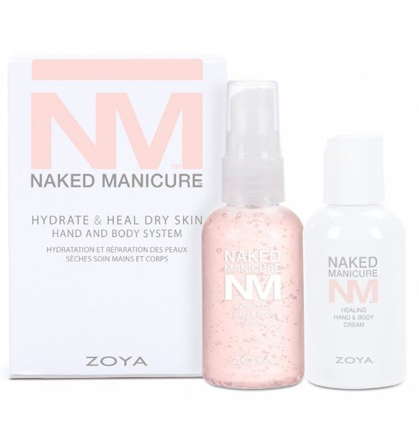 Kit Duo Zoya Hidratação e Reparação Profunda - Naked Manicure Hydrate & Heal Hand And Body System