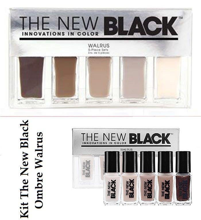 Kit Esmaltes The New Black - 1 Kit - Escolha o Seu!