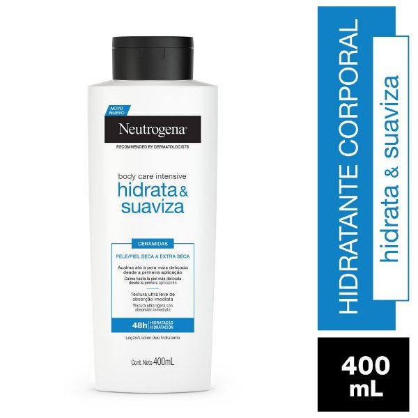 Hidratante Corporal Neutrogena Body Care Intensive Hidrata e Suaviza 400ml