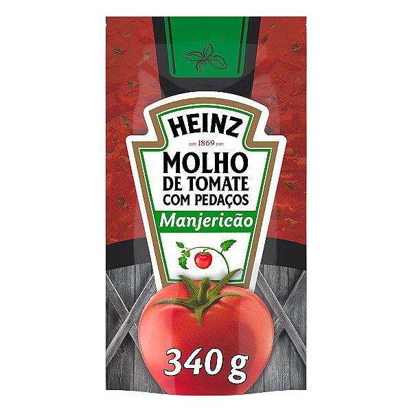 Molho De Tomate Heinz Manjericao 340g