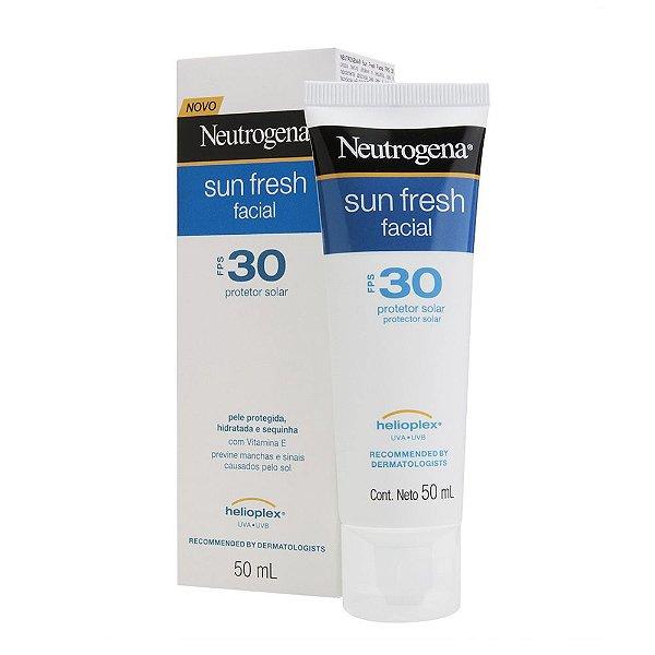Protetor Solar NEUTROGENA Sun Fresh Facial FPS 30 50ml