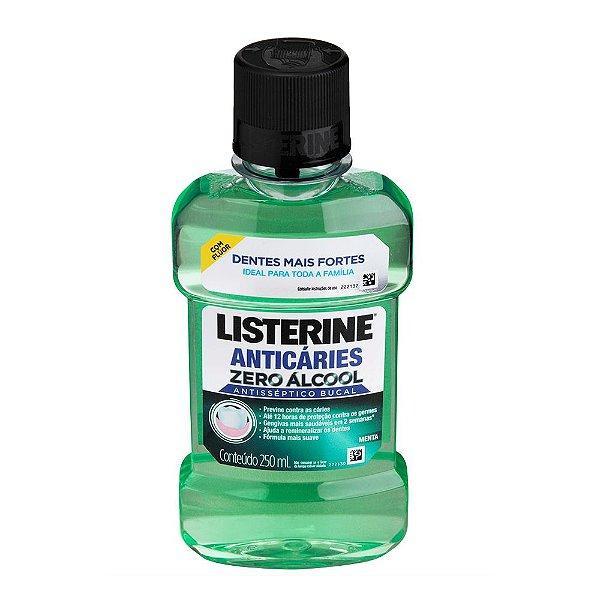 Antisséptico Bucal LISTERINE Anti Cáries Zero 250 ml