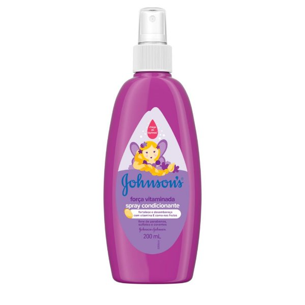Spray Finalizador JOHNSON'S Força Vitaminada 200 ml