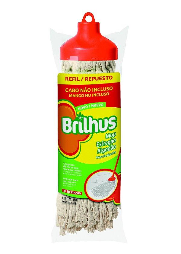 Brilhus Mop Esfregão Algodão Refil