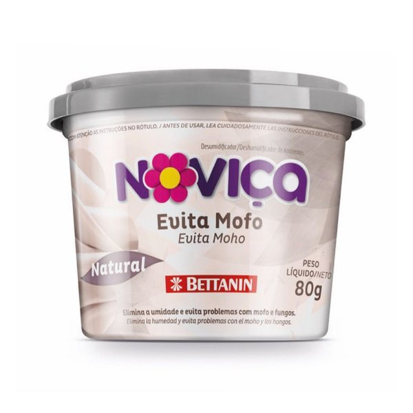 Evita Anti Mofo Fungos e Odores Noviça Natural 80gr