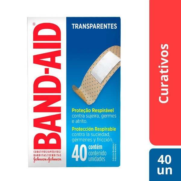 Curativos BAND AID Regular 40 unidades