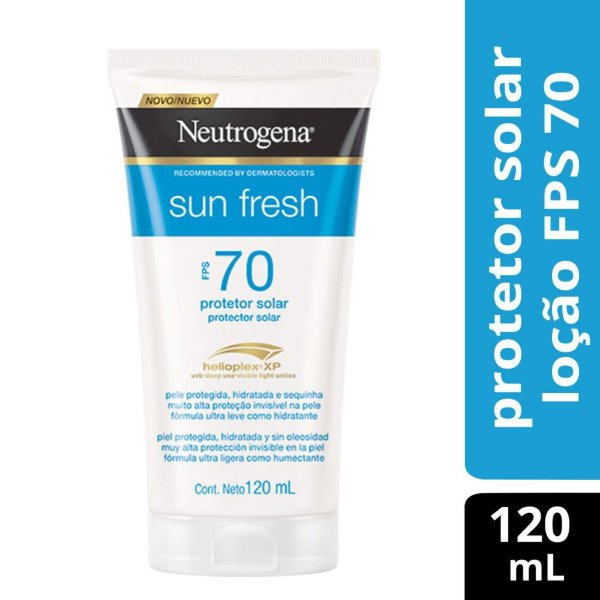 Protetor Solar NEUTROGENA Sun Fresh FPS 70 120ml