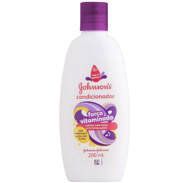 Condicionador JOHNSON'S Força Vitaminada 200ml