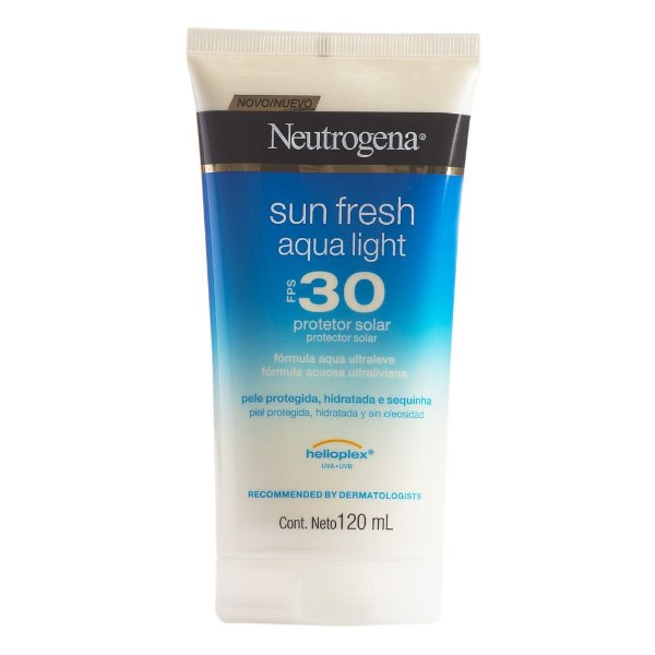 Neutrogena Sun Fresh Aqua Light FPS 30 120ml