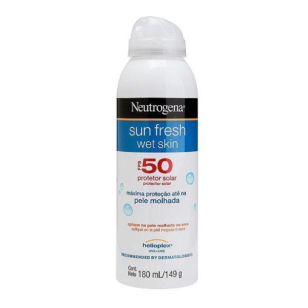 Protetor Solar Wet Skin NEUTROGENA Sun Fresh FPS 50 180ml