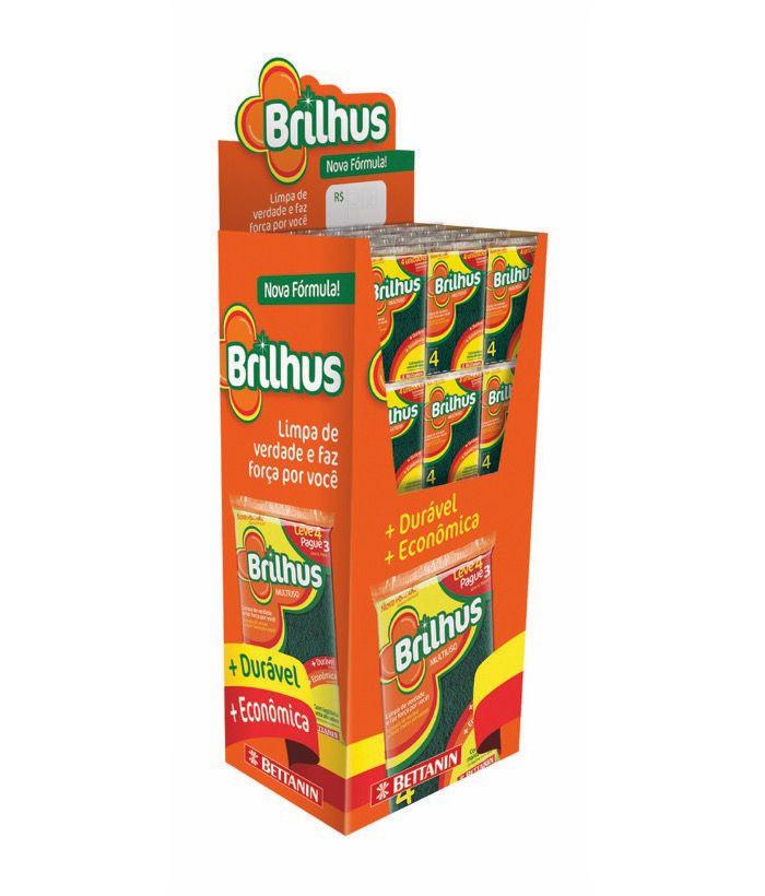 Brilhus Display Esponja Multi L4P3