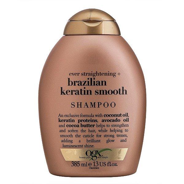 Shampoo OGX Brazilian Keratin Smooth 385ml